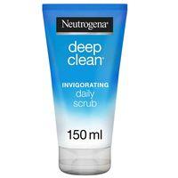 Neutrogena Facial Scrub Deep Clean Invigorating Normal to Combination Skin 150ml