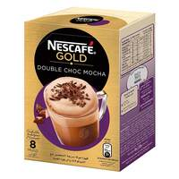 Nescafe Double Choca Mocha Coffee 23g x Pack of 8