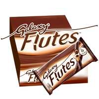 Galaxy Flutes Chocolate Fingers 45g x Pack of 12