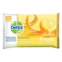 Dettol Antibacterial Skin Fresh Wipes 40 Counts