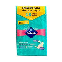 Nana Ladies Pads Thick Maxi Super Dry Duo 10 Pads