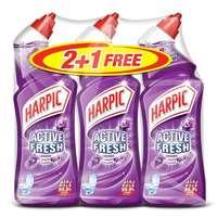 Harpic Toilet Cleaner Liquid Lavender 750ML X3