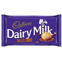 Cadbury Dairy Milk Hazelnut Chocolate 227g