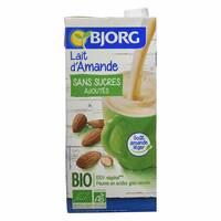 Bjorg Organic No Added Sugar Almond Milk 1L