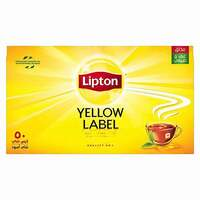 Lipton Yellow Label Black Tea 2g x Pack of 50