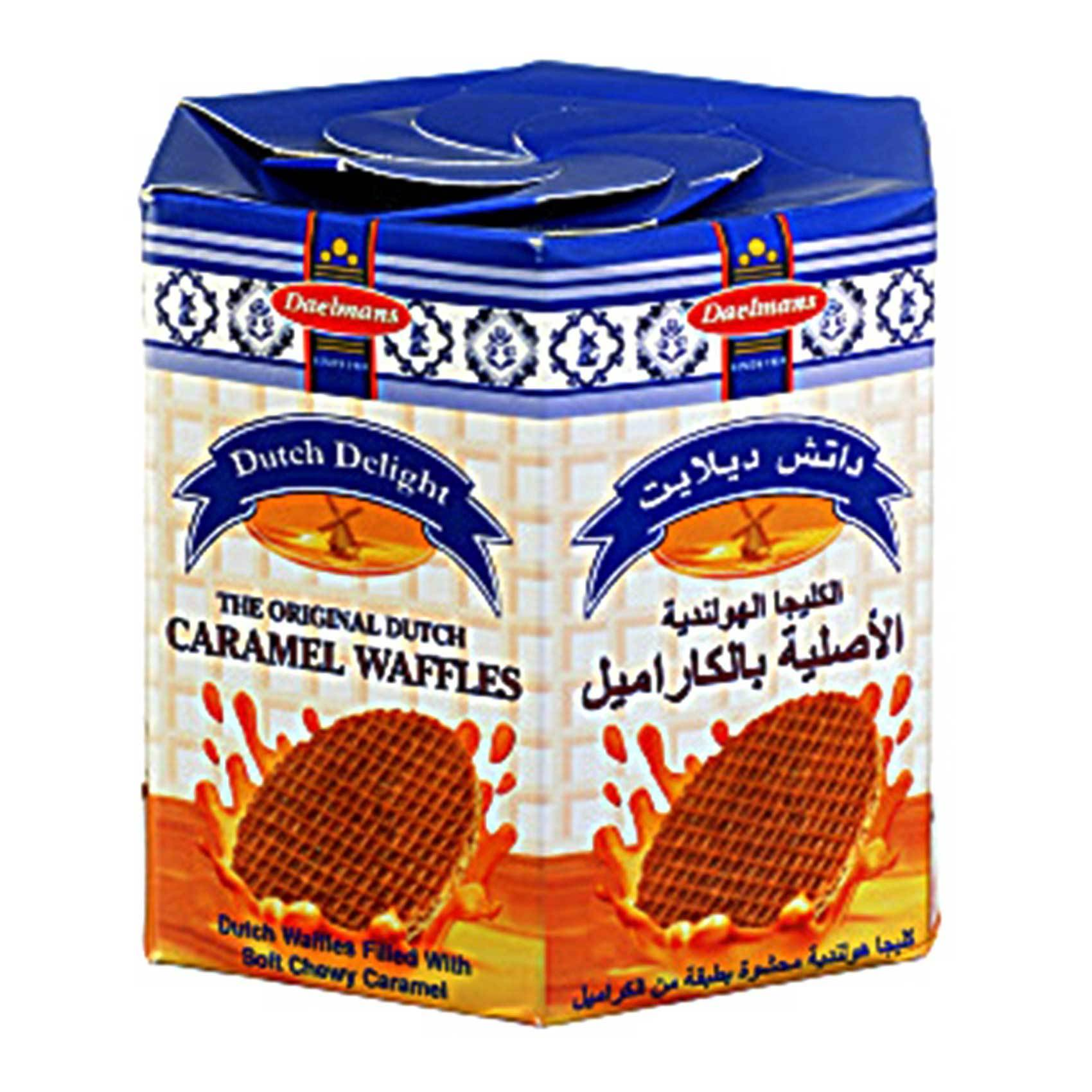 Buy Dutch Delights Caramel Waffles 230g Online Shop Food Cupboard On Carrefour Uae