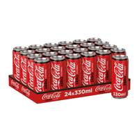 Coca cola zero can 330 ml x 24