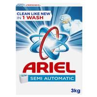 Ariel Laundry Powder Detergent Original Scent 3kg