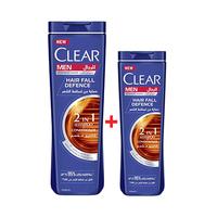Clear Shampoo Hair Fall Defense 360ML+90ML Free