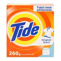 Tide detergent powder original scent 260 g