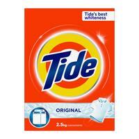 Tide detergent powder high faom original scent 2.5 Kg