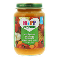 Hipp Organic Spaghetti with Tomato and Mozzarella 190g