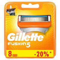Gillette Fusion men's razor blade refills 8 Counts
