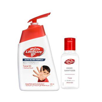 Lifebuoy Hand Wash Total 500ML + Sanitizer 50ML