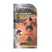 Montagne Jeunesse 7th Heaven Charcoal & Tea Tree Blackhead T Zone Strips for Men