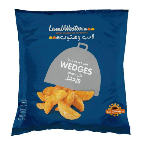 Buy Lambweston Potato Wedges 750 G Online Shop Frozen Food On Carrefour Saudi Arabia