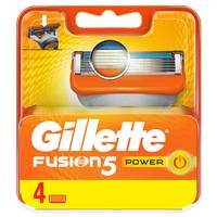 Gillette Fusion Power Men's Razor Blade Refills Pack of 4