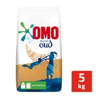 Omo active auto laundry detergent powder low foam with touch comfort oud 5 kg