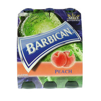 Barbican Non Alcoholic Malt Beer With Peach 330ml x Pack of 6