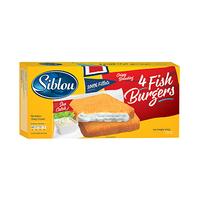 Siblou Fish Burger 4 Pieces 400GR