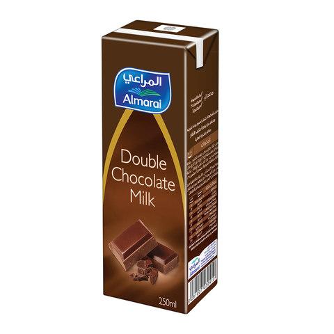 Buy Almarai Long Life Double Chocolate Milk 250 Ml Online Shop Fresh Food On Carrefour Saudi Arabia