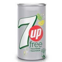 7UP Free Carbonated Soft Drink Mini Can 155ml