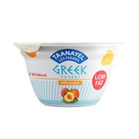 Taanayel Les Fermes Greek Yoghurt Peach Low Fat 150GR