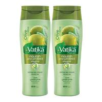 Vatika shampoo nourish & protect 2 x 4 00 ml