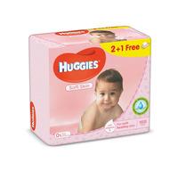 Huggies baby wipes soft skn 56 wipes x 3