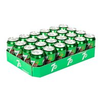 7up soft drink 325 ml x 24 pieces