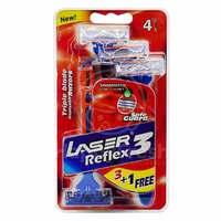 Laser 4 Piece Reflex 3 Razor