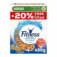 Fitness original cereal made with whole grain 450 g +20 % free