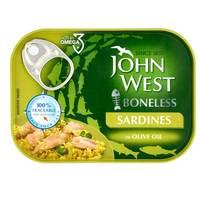 John West Boneless Sardines in Olive Oil 95g
