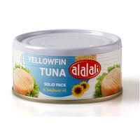 Al Alali Yellowfin Tuna Solid Pack in Sunflower Oil 170g