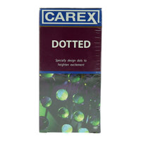 Carex Dotted Condom Pack of 12