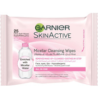 Garnier Skin Active Micellar Cleansing Wipes 25 Counts