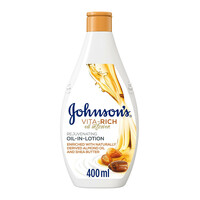 Johnson body boisturizer vita rich oil In lotion 400 ml