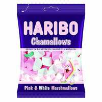 Haribo Chamalllows Pink And White Marshmallow Candy 70g