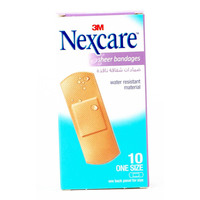 Nexcare Sheer Bandages One Size Bandages Pack of 10