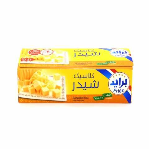 Buy Pride Cheddar Cheese Block 1 Kg Online Shop Fresh Food On Carrefour Saudi Arabia