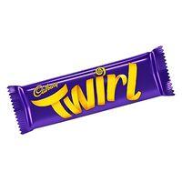 Cadbury Twirl Choco Fingers 43g x Pack Of 24