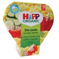 Hipp Organic Star Pasta With Italian Vegetables 250g
