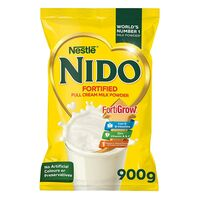 Nestle Nido Fortified Full Cream Milk Powder In Pouch 900g