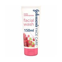 Johnson's even complexion face wash with soy and red berry extracts 150 g