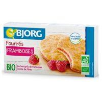 Bjorg Orange Raspberry Biscuits 175g