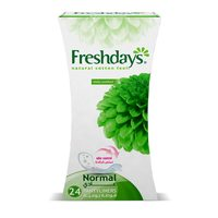 Freshdays Daily liners Normal 24 pads