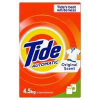 Tide Automatic Laundry Powder Detergent Original Scent 4.5kg