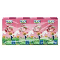 Lacnor Essentials Strawberry Flavour Milk 125ml x Pack of 6