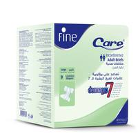 Fine Care Unisex Adult Diapers 9 Counts
