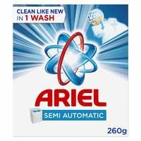 Ariel Semi Automatic Laundry Powder Detergent Original Scent Blue 260g